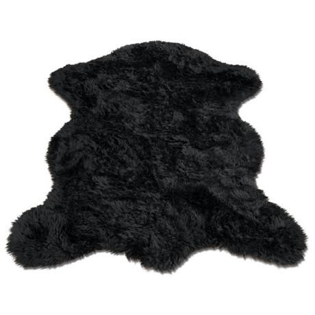 black faux fur rug 1000 images about lake house finds on pottery 4669