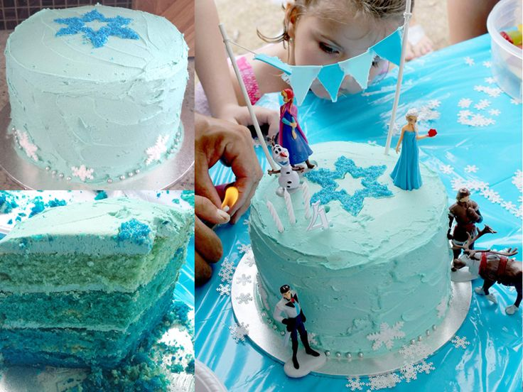 Frozen party ideas, Frozen Birthday Cake - Rebel Without A Pause