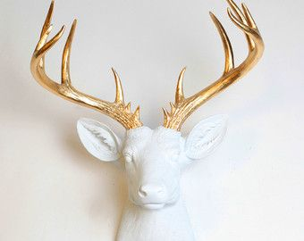 Browse unique items from WhiteFauxTaxidermy on Etsy, a global marketplace of handmade, vintage and creative goods.