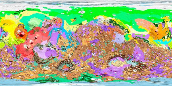These images may look like colorful abstract artwork, but they are in fact maps of the planets, moons and asteroids in our solar system created from i…