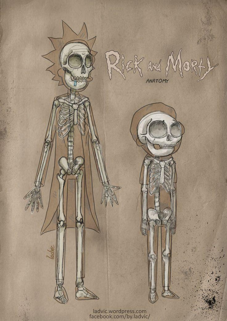 Rick and Morty nada que ver con los dibujos .La amooooo