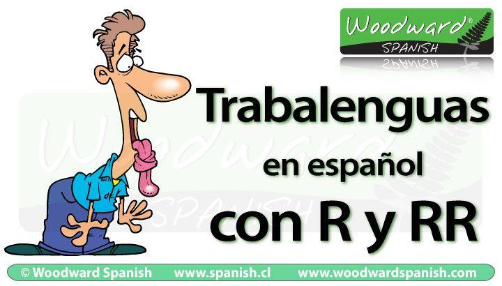 Una lista de Trabalenguas con R y RR en español