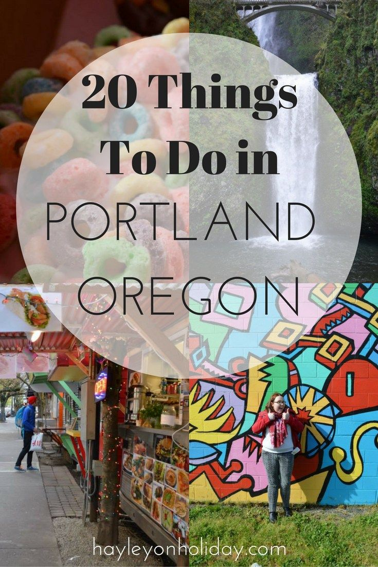 Looking for things to do in Portland? Check out these 20 awesome things to do in Portland, Oregon. Food and Portland attractions included!