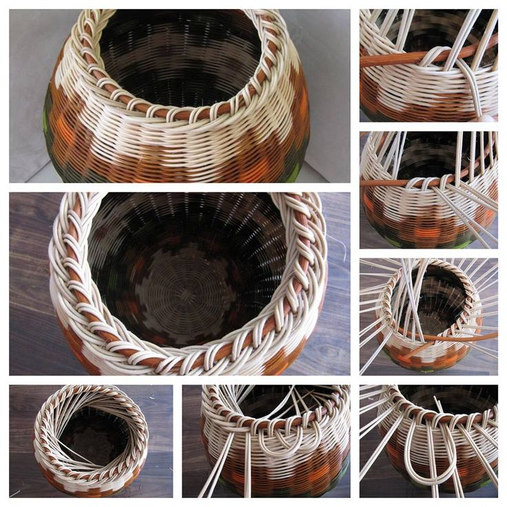 Basket Weaving Tips : Best images about inspirace pap?r pleten? on