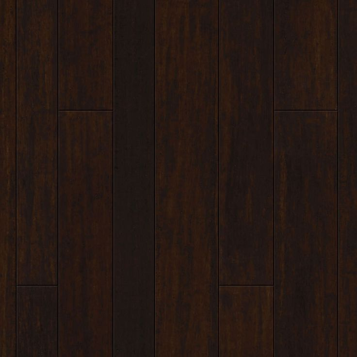 Natural Floors by USFloors 0-in Variable Width Prefinished Dark Antique Distressed Bamboo Hardwood Flooring (28.9 Sq. Feet)