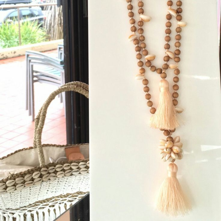 New tassel necklace to shop