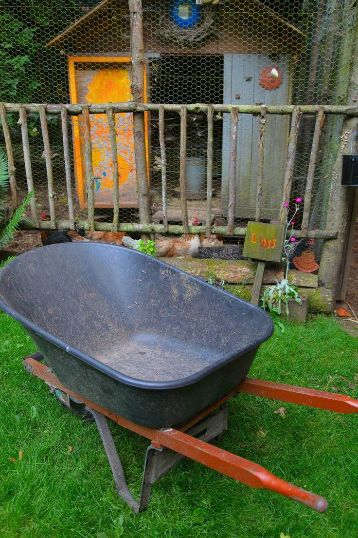 Plastic Wheelbarrow Repaired, Photo: Liesl Clark
