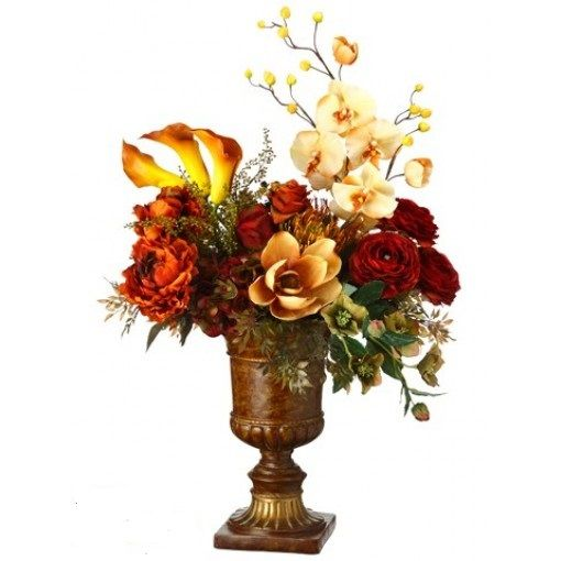 Want a fresh fall look for your home décor? Nothing comes better than these #flowers