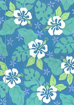 hawaii hibiscus print