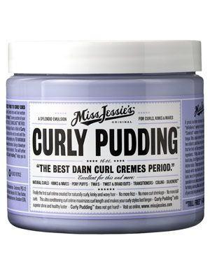 """Our world famous Curly Pudding is a """"smooth operator"""" that transforms shrunken kinks to super shiny stretched out curls.    Instructions for use: Apply a palm full of Curly pudding to damp freshly shampooed and conditioned hair. Rake through large sections and air dry. For maximum elongation comb a nickel sized dollop thru small sections and air dry. THIS PRODUCT IS NOT CHEMICALLY ALTERING."""
