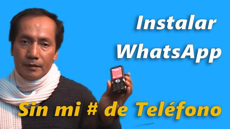 Instalar WhatsApp Messenger sin mi número de teléfono | Windows 10 Mobile