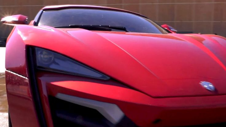 "FAST and FURIOUS 7 ""The Lykan Hypersport"" by W Motors 770hp #cars #supercars #SevenInTheWorld"