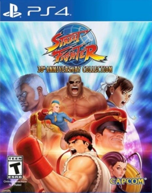 Video Game Street Fighter 30th Anniversary Collection By Capcom