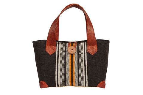 New for SS15 - Ravinala Aztec tote New for #leather #raffia #cotton #button #drawstring #beachbag #strawbag #tote #basket
