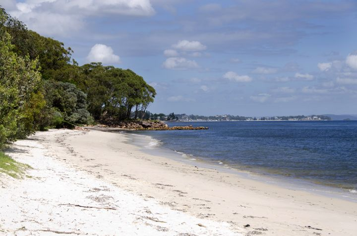 Dutchmans ('Dutchies') Beach, Nelson Bay, Port Stephens #dutchies #portstephens