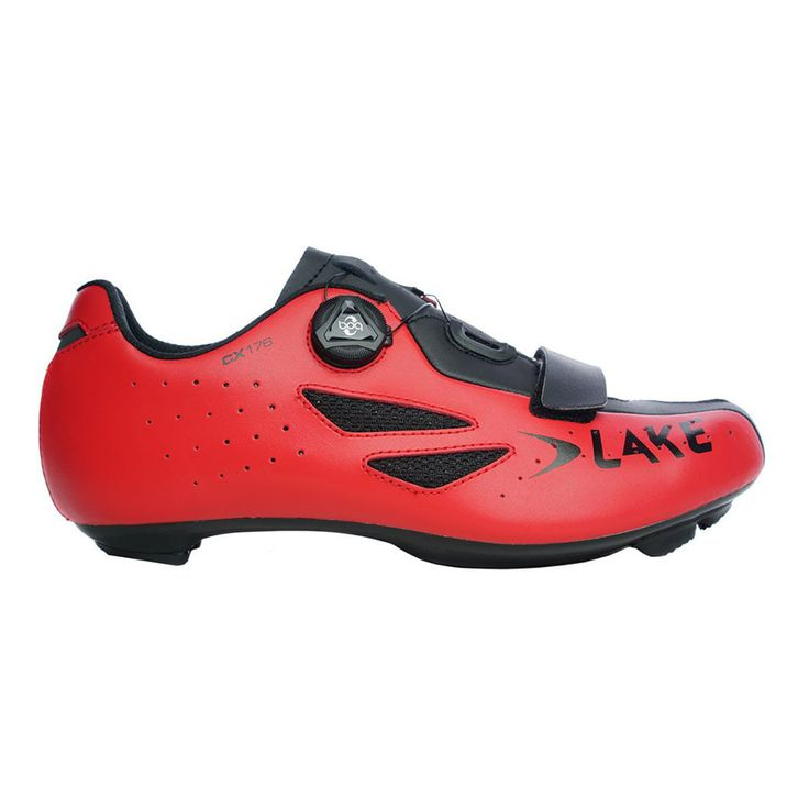 Chaussures Lake CX176 route rouge | deporvillage