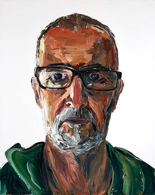 © Anh Do ~ Man 6 ~ 2015 oil on linen at Olsen Irwin Gallery Sydney Australia