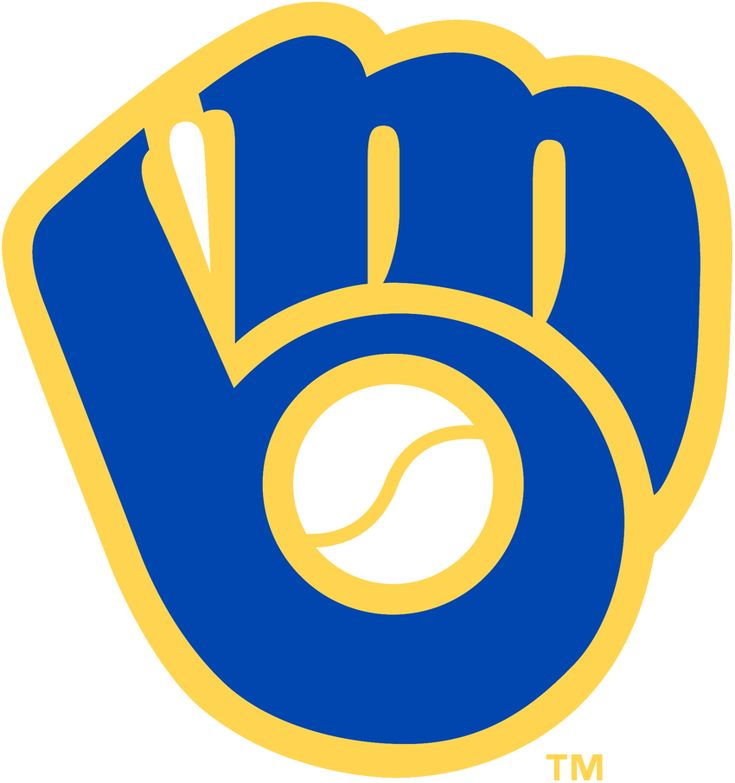 Milwaukee Brewers Primary Logo (1978) - 'MB' together in the shape of a baseball glove