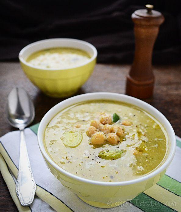 Zuppa di #lenticchie e #piselli per una cena sana e gustosa ricette