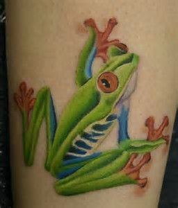 Image result for small frog tattoo