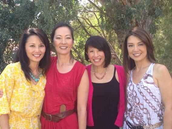 The Joy Luck Club - The daughters 20 years later: Tamlyn Tomita, Rosalind Chao, Lauren Tom and Ming-Na Wen