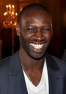 """Omar Sy, from the movie """"The Intouchables""""... his smile makes my day...!"""