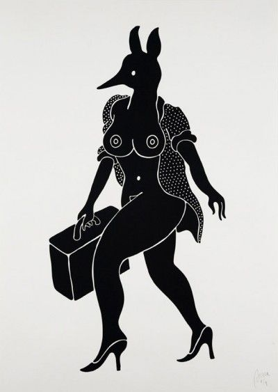 """One more piece by Parra, """"Leaving You."""" Love it."""