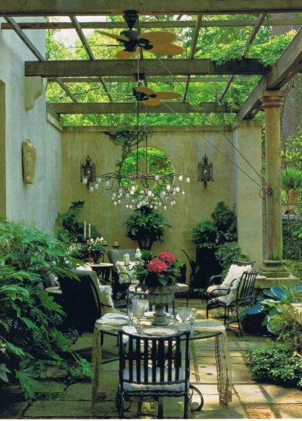 Wintergarten Pflanzenarten grüne Oase-Gestalten Tipps-Ideen