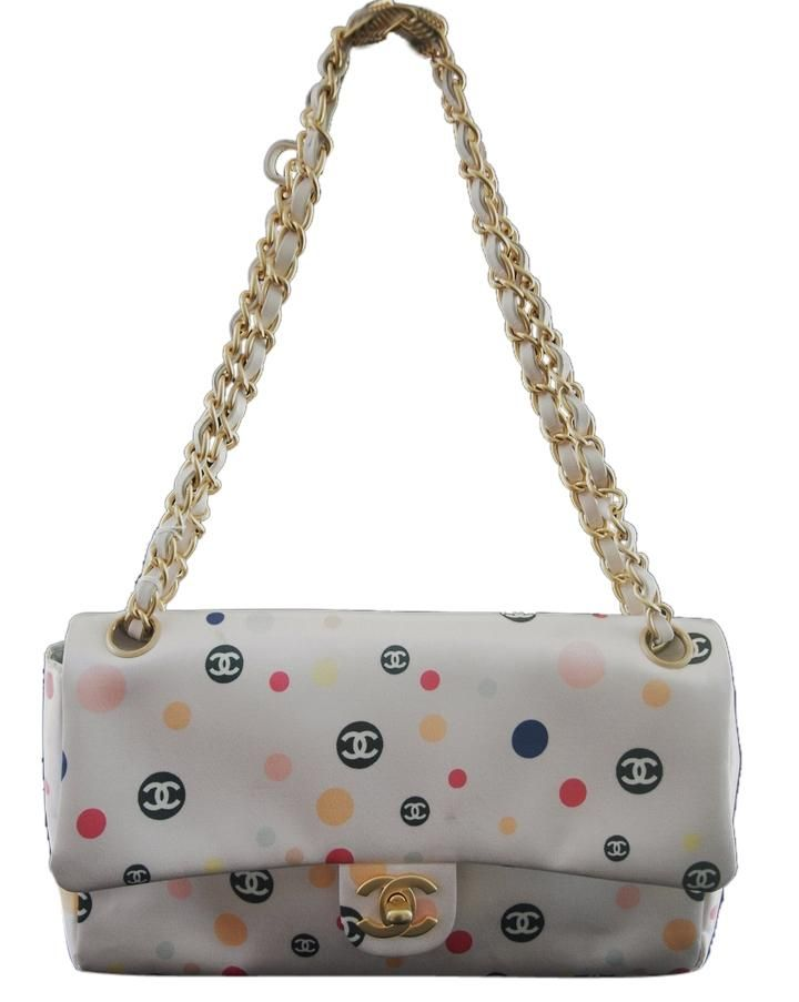 Chanel Satin Chain Limited Edition Shoulder Bag. Get one of the hottest styles of the season! The Chanel Satin Chain Limited Edition Shoulder Bag is a top 10 member favorite on Tradesy. Save on yours before they're sold out!