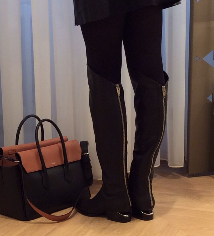Alexander Wang boots - zippers are the thing this fall and winter Image captured at Stockmann Helsinki flagship store