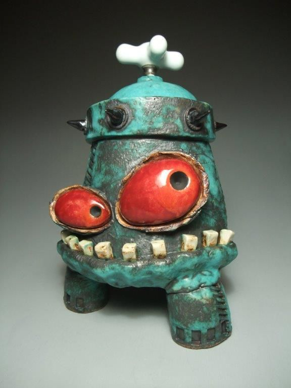 James DeRossoCookieJarW  2015 Ceramic Showcase Potters