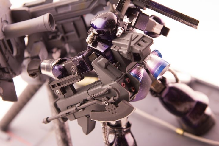 1/144 Zaku II Custom Build by Alex Bicomong of Team Carbon www.dyluckworx.com www.facebook.com/dyluckworx www.facebook.com/teamcarbongunpla2014 #zaku #custom #space #camo #gunpla #gundam #big #gun #diorama #bandai #model #kit
