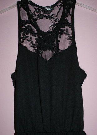 Kup mój przedmiot na #vintedpl http://www.vinted.pl/damska-odziez/krotkie-sukienki/16540984-czarna-rozkloszowana-sukienka-z-koronka