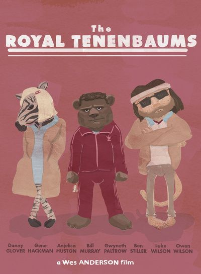 the royal tenenbaums Art Print   covers/posters   Pinterest