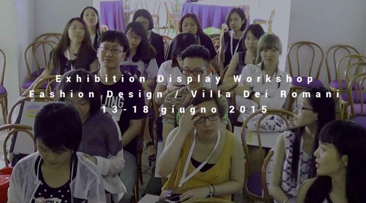 Workshop Villa Dei Romani / 13-18 giugno 2015