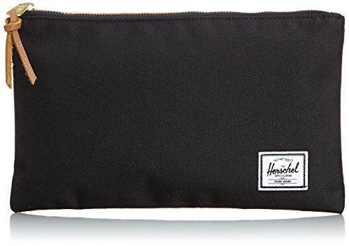Herschel Supply Co. Men's Network Medium Pouch, Black, One Size