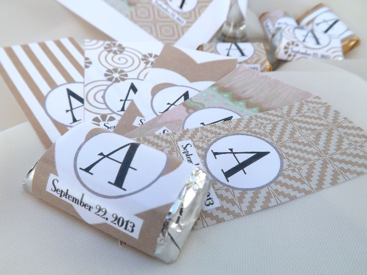 #Candy #Buffet #DIY #Wedding #Printables. Your Monogram/Date. 10 colors! $7.00 http://www.customweddingprintables.com/#!wedding-wraps/c1p1n