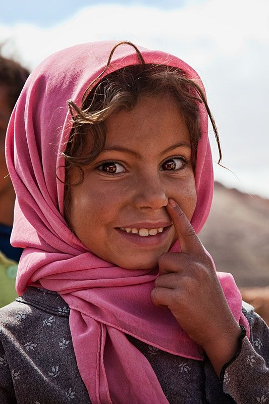 ^Berber girl from the Dades Valley - Morocco