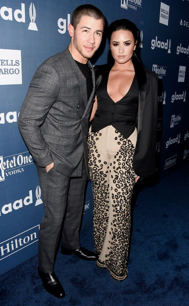 Demi Lovato gave an unconventional shout-out to longtime friend Nick Jonasand a sweet one to boy...