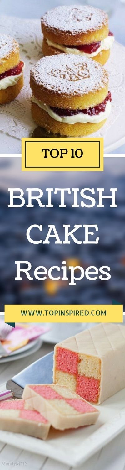 When it comes to cakes the British are unbeatable. All those gorgeous sponge cakes, puddings, pasties and pies! We selected the best tea-time treats that have a long history and have been tried and baked for perfection. You can't go wrong with these classic British cakes.
