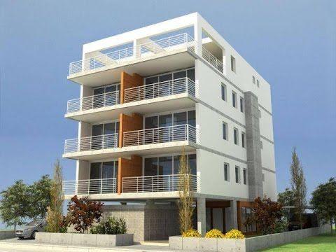 Collective residential buildings 3d Design. Artlantis Renders