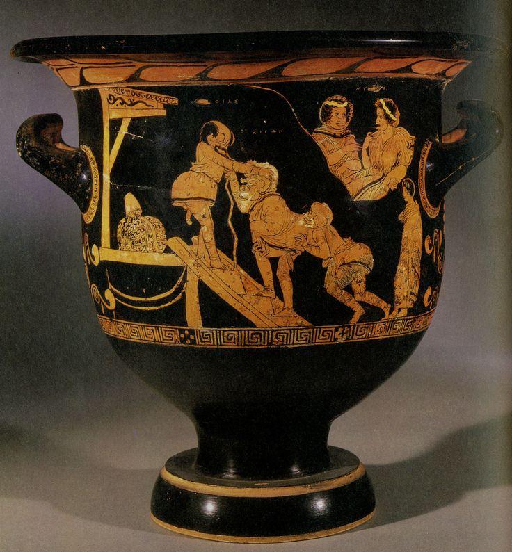 Londres British Museum Odisseu I Polifem Crtera De Figures Roges