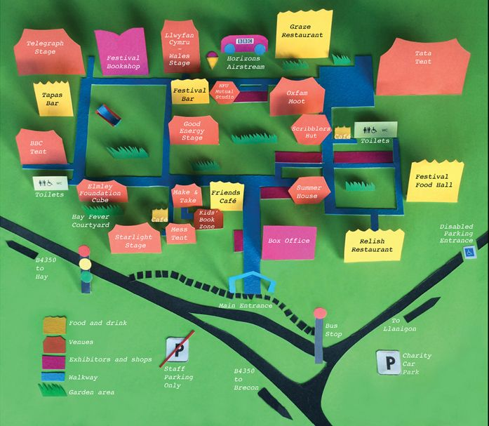 Hay on wye festival directions