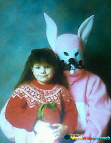 Best Scary Easter Bunnies Images On Pinterest - 26 creepy easter bunnies