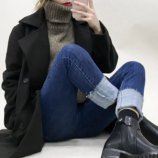 1000+ ideas about Turtleneck Outfit on Pinterest | Minimal outfit Stan smith outfit and Normcore