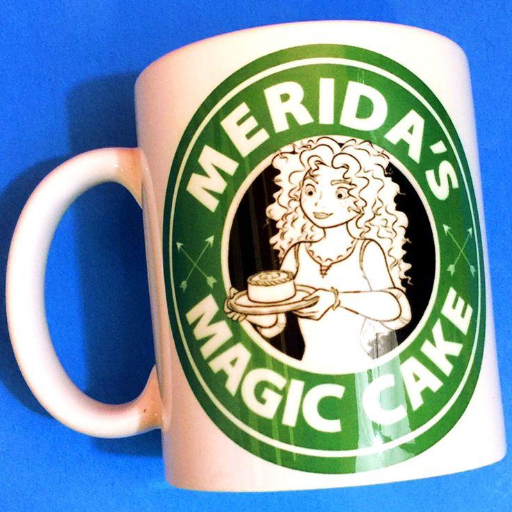 Brave Merida Coffee Mug | Magic Cake Starbucks |  Disney Princess
