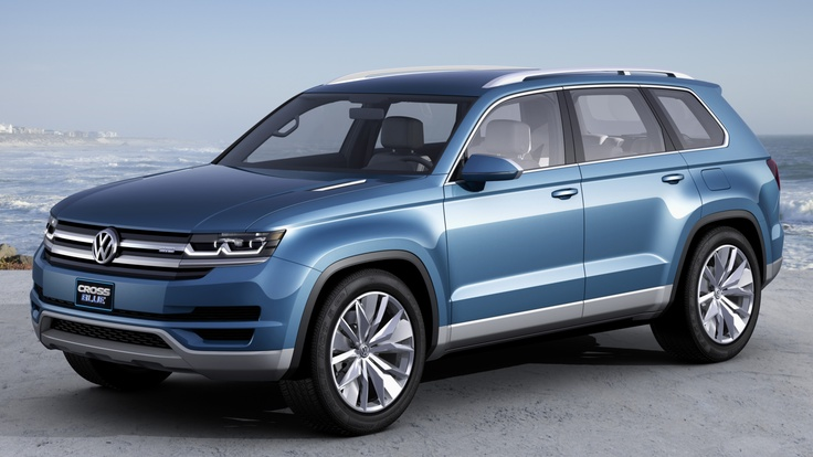 Volkswagen CrossBlue Concept. Click on the above image for more photos and information. (Volkswagen of America)