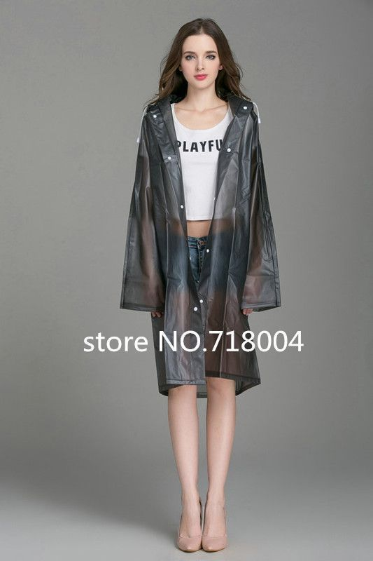raincoat Picture - More Detailed Picture about PVC Transparent Raincoat poncho Women Men waterproof Long Rain Coat Ponchos Jacket Chubasqueros Impermeables Mujer Picture in Raincoats from shilly's store | Aliexpress.com | Alibaba Group #RaincoatsForWomenTrench #RaincoatsForWomenHoods