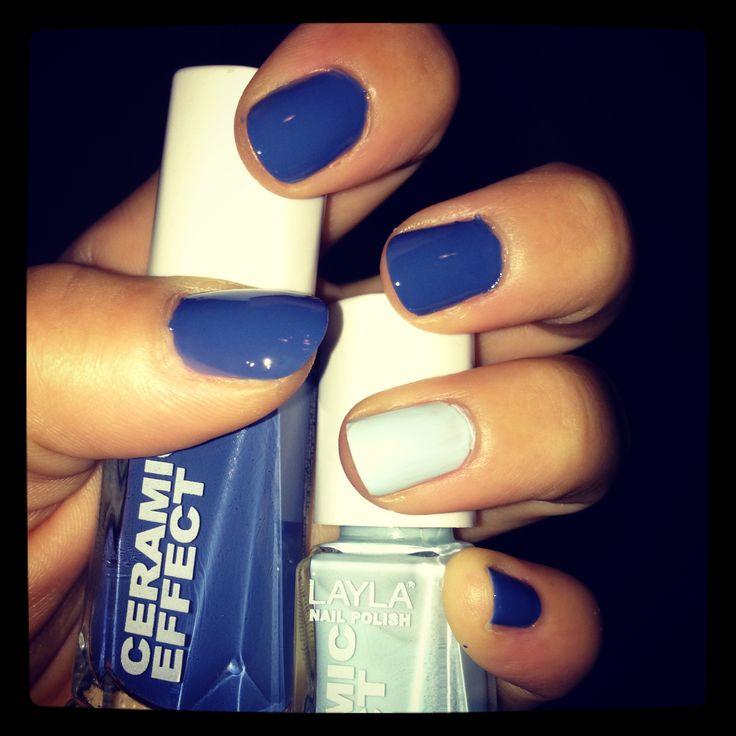 Nails idea - blue