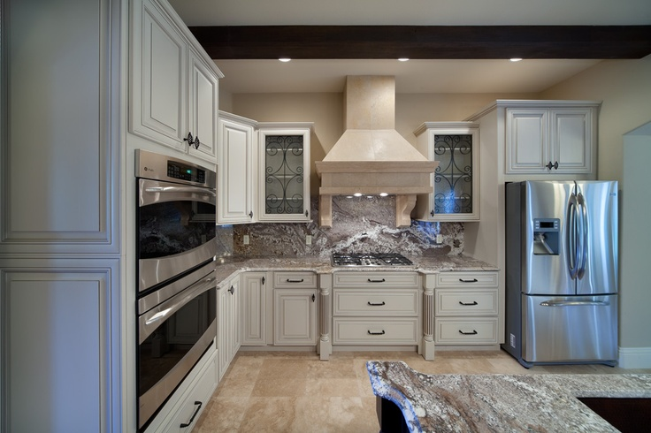 custom kitchen mixing contemporary and old-world styles  www.imyourbuilder.com
